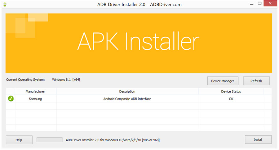 adb driver installer for windows 8.1 64 bit download